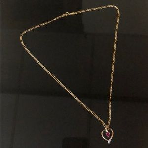 Jewelry - 14K Solid Yellow Gold Heart Pendant NWOT